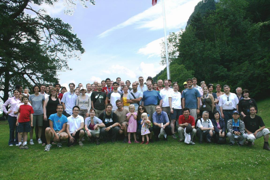 Group picture of 10 years anniversary